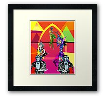 Dance Away the Night Framed Print