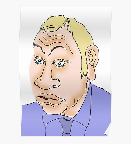 Michael Gove Cartoon Caricature 2 Poster