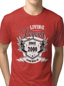 Living Legend Since 2000 Tri-blend T-Shirt