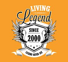 Living Legend Since 2000 Unisex T-Shirt