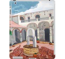 Patio Colonial iPad Case/Skin