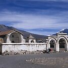 Church square, Lagunas, Bolivia by Syd Winer