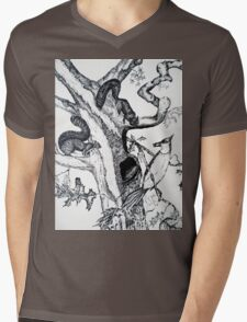 RESPECT NATURE 1 Mens V-Neck T-Shirt