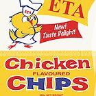 Chicken Chips Card by Darian  Zam