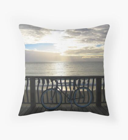 Fixie at Twilight Throw Pillow