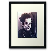 Portrait of Jonathan Framed Print