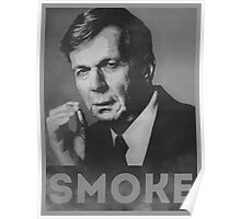 Smoke! Funny Obama Hope Parody (Smoking Man)  Poster