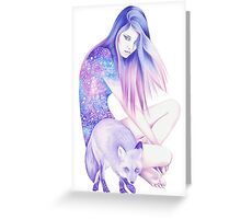 Galaxy Wanderer Greeting Card