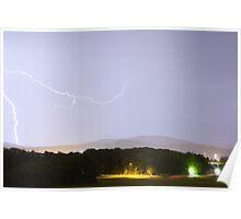 Lightning over Ljubljana Poster
