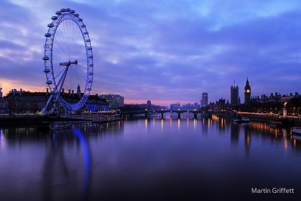 London Before Sunrise by Martin Griffett