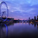 London Before Sunrise by Martin Griffett