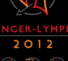 Hunger-lympics - STICKER Sticker