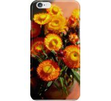 Blooming flowers iPhone Case/Skin