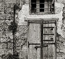 Doorway, The Sassi Quarter, Matera, Basilicata, Italy by Andrew Jones