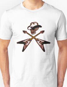 cowboy skull rocker T-Shirt