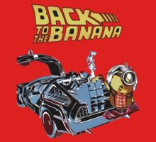 Back To The Banana Future Baby Tee