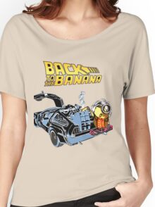 Back To The Banana Future Women's Relaxed Fit T-Shirt