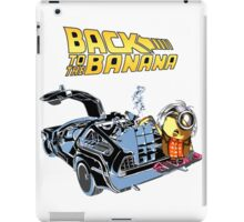 Back To The Banana Future iPad Case/Skin