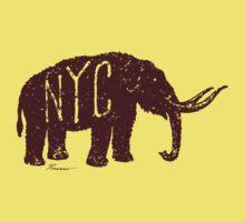 Mastodon NYC One Piece - Short Sleeve