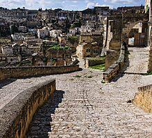 Via Muro, Matera, Basilicata, Italy by Andrew Jones