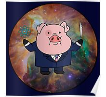 """""""Smart"""" Waddles Poster"""