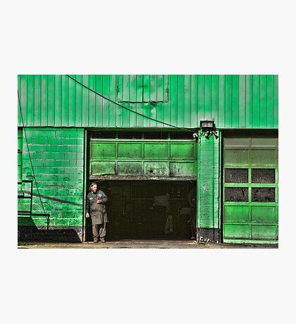 Urban Green Photographic Print
