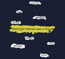 Sherlock Holmes wasn't a fraud. by SallySparrowFTW