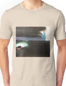 The night starts to walk Unisex T-Shirt