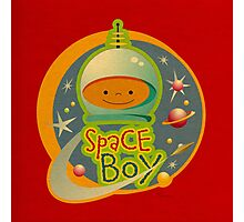 Space Boy! Photographic Print