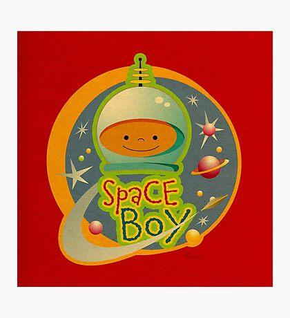Space Boy! Photographic Print