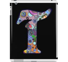 The Letter T iPad Case/Skin