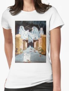 Playing the Beyond Womens Fitted T-Shirt