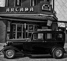 """1932 Ford Sedan """"John Dillinger"""" by TeeMack"""
