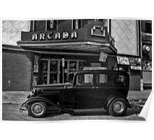 """1932 Ford Sedan """"John Dillinger"""" Poster"""