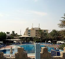 Kuwaiting by the pool in Kuwait by billystygian