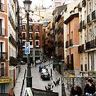 Madrid Street Maze by Alexandra Sollers