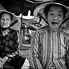 Market Traders, Hoi-An, Vietnam by Karl Willson