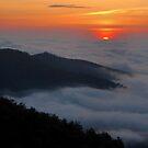 Shenandoah Sunrise by Stephen Vecchiotti