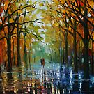 FALL DATE - LEONID AFREMOV by Leonid  Afremov