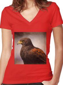 Wildlife Art - Meaningful Women's Fitted V-Neck T-Shirt