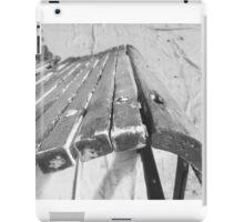 Restored seat iPad Case/Skin
