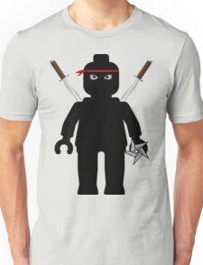 Ninja Minifig / TMNT Foot Soldier Unisex T-Shirt