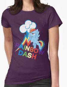 Rainbow Dash Womens Fitted T-Shirt