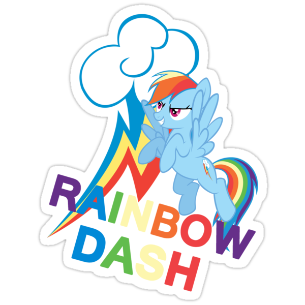 Rainbow Dash by kidomaga