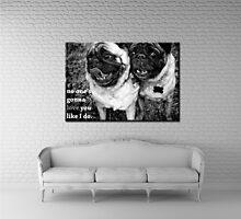 Pug Love by modestimages