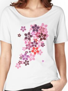 Sakura Women's Relaxed Fit T-Shirt