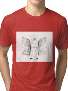 Ink triangle Tri-blend T-Shirt