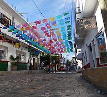 Street Scape - En La Calle by Bernhard Matejka