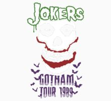 Joker Gotham Skull Kids Clothes