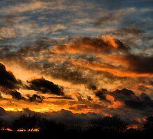 Stormy Sunset by Simon Pattinson